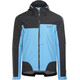 GORE WEAR C5 Gore-Tex Active Trail Hooded Jacket Men black/dynamic cyan